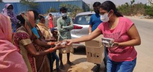 lockdown food distribution